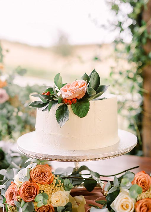 Wedding in Tuscany - Wedding Cake